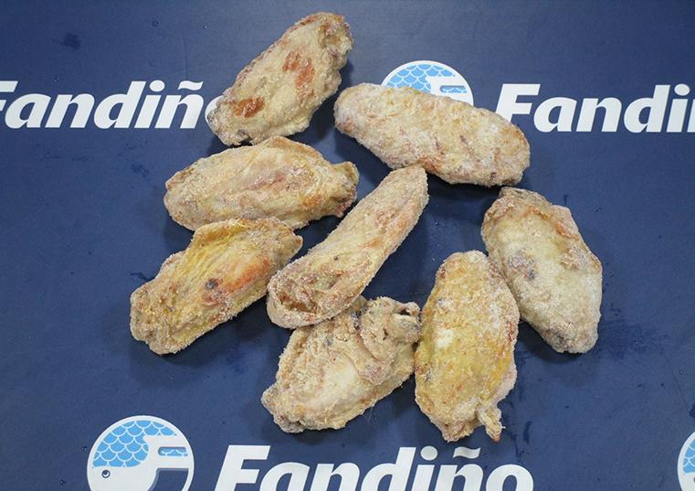 Pollo alitas marinadas fandi o distribuidora de congelados for Cocinar tintorera
