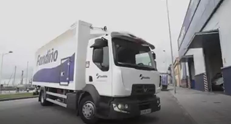 Renault Trucks, en su nueva campaña promocional elige a Fandiño para su video.