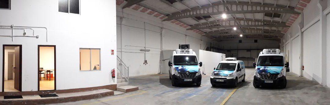 FANDIÑO Distribuidora de Congelados inauguró ayer sus nuevas instalaciones del polígono del Tambre en Santiago de Compostela.